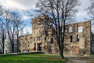 Ząbkowice Śląskie - Ruins of a 14th-century castle