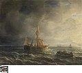 Zeegezicht, circa 1802 - circa 1880, Groeningemuseum, 0040507001.jpg