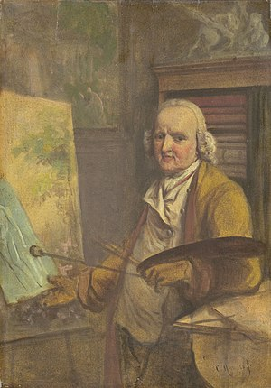 Jurriaan Andriessen (artist) - Self-portrait (after 1800);  Rijksmuseum Amsterdam