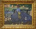Zittende vrouw in een tuin Bernard Boutet de Monvel.jpg