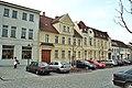 Zossen, Häuserzeile am Marktplatz.jpg