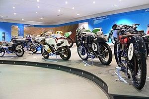 Deutsches Zweirad- und NSU-Museum - Motor racing exhibit