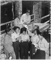 """A contingent of 15 nurses...arrive in the southwest Pacific area, received their first batch of home mail at their sta - NARA - 531410.tif"