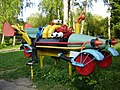 """Metalic"" Car for Children.Khmelnitskiy. Park of 500 years city.Ukraine - panoramio.jpg"