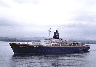 SS SeaBreeze - SeaBreeze of the coast of Limón, Costa Rica in 1999