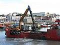 'Lantic Bay' dredging Ramsgate harbour - geograph.org.uk - 2522769.jpg