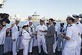 'Mr. Food Test Kitchen' films a show aboard USS Cole 150508-N-LG762-156.jpg