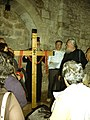 'greek Orthodox church' doing the 'Stations of the Cross' inside 'Holy sepulchre church'.jpg