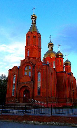 Zhmerynka - St. Oleksandr Nevs'ky Orthodox Cathedral in Zhmerynka