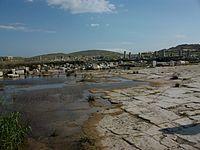 Àgora de Teofrast inundada, Delos.JPG
