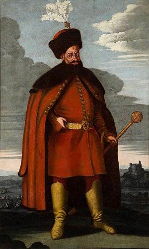 Ádám Batthyány - Portrait of Ádám Batthyány, circa 1650
