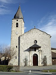 The church in Caumont