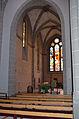 Église réformée Saint-Martin de Vevey - 08 - chœur vu du bas côté sud.jpg