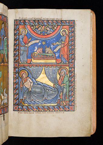 Évangéliaire d'Averbode - UnivLiège Ms363 pl46 (Nativité).JPG