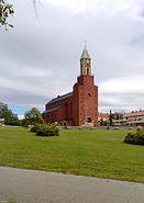 Ösd stora kyrka från österängsparken