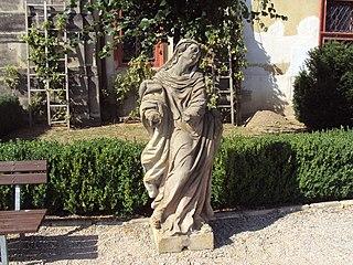 Soubor soch Panny Marie Bolestné a Bičovaného Krista