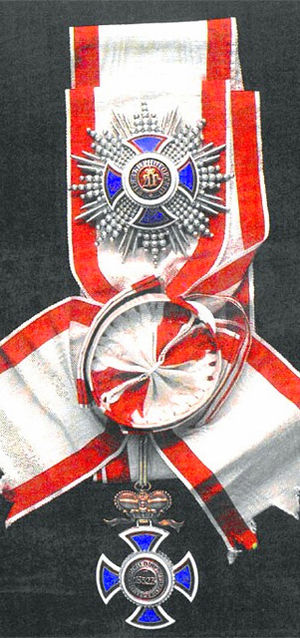 Order of Prince Danilo I - Grand Cross of the Order's Sash and Star