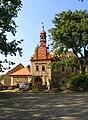 Škvorec, Old Castle Restoration 2.jpg