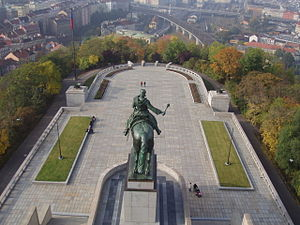 National Monument in Vitkov - View from the Monument