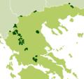 Κατανομή του αγριόγιδου στην Ελλάδα.png