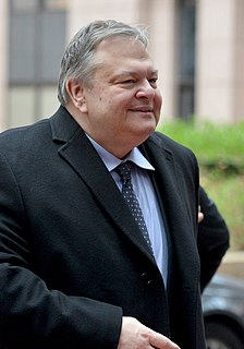 Evangelos Venizelos Greek politician