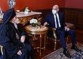 Σύναντηση ΥΠΕΞ Ν. Δένδια με Οικουμενικό Πατριάρχη Βαρθολομαίο 2021 03.jpg