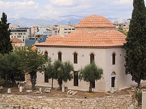 Fethiye Mosque (Athens) - The Fethiye Mosque after its restoration