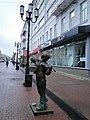 Большая Покровская ул. Маленький скрипач - panoramio.jpg