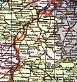 Бузовьязовский район на карте БАССР, 1953 год.jpg