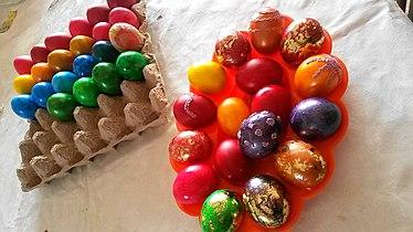 Велигденски јајца од Македонија