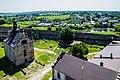 Вид з верху на двih Меджибі́зького замку.jpg