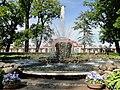 Дворец Монплезир. Фонтан Сноп. - panoramio.jpg