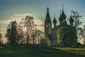 Rodnikovsky District - Kazan church, built 1811, Rodnikovsky District