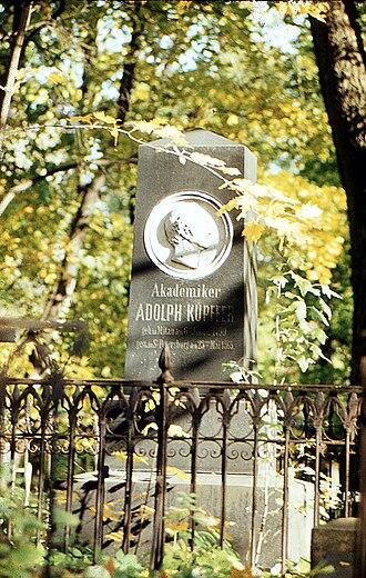 Smolensky Cemetery - Image: Могила Купфера А.Я