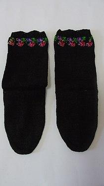 Мушке плетене чарапе из Левча