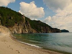 Озеро Байкал, Бухта песчаная. Следы на песке..jpg