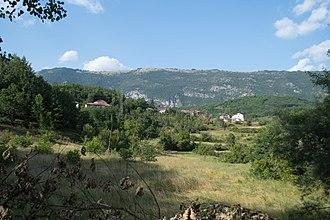 Nerezi - Panoramic view of the village