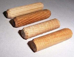 Dowel - Wooden dowel pins