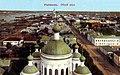 Рыбинск. Общий вид с колокольни Крестовоздвиженского храма. Начало XX века.jpg