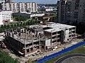 Стройка поликлиники, моравский переулок - panoramio.jpg