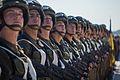 Тренування Нацгвадійців до параду військ з нагоди 25-ї річниці незалежності України IMG 5904 (28964936391).jpg