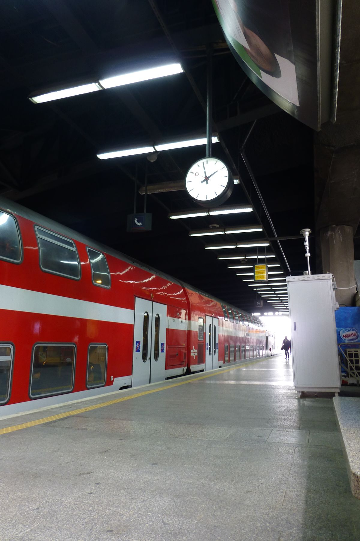 Px Tel Aviv Hashalom Train Station