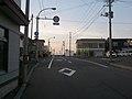 北海道道215号江差停車場線(起点1).jpg