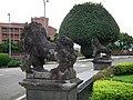 原台湾神社唐獅子 Stone Lions of Former Taiwan Shrine - panoramio.jpg