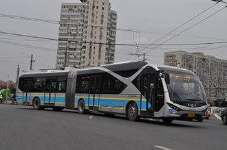 Beijing Bus - BRT Trolleybus 3