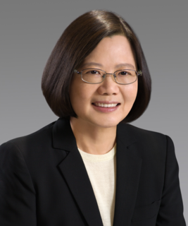 Tsai Ing-wen Taiwanese politician; President of the Republic of China (Taiwan)