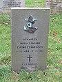 -2018-11-06 Norwegian war grave for Eivind Edvardsen, Saint Andrew's, Bacton.JPG