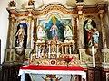 009 Trégrom Eglise Saint-Brandan Le maître-autel.JPG