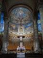013 Temple expiatori del Sagrat Cor del Tibidabo (Barcelona), altar major de la cripta.jpg