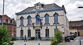 The town hall of Beuvry